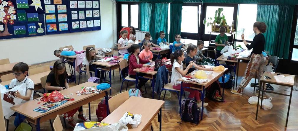 Održane radionice za djecu i nastavnike na temu otpada