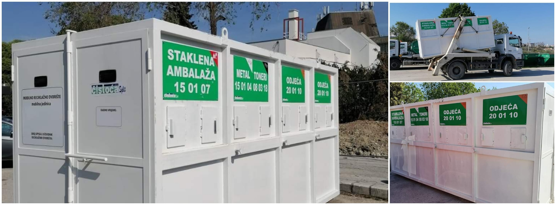 Postavljena nova mobilna reciklažna dvorišta