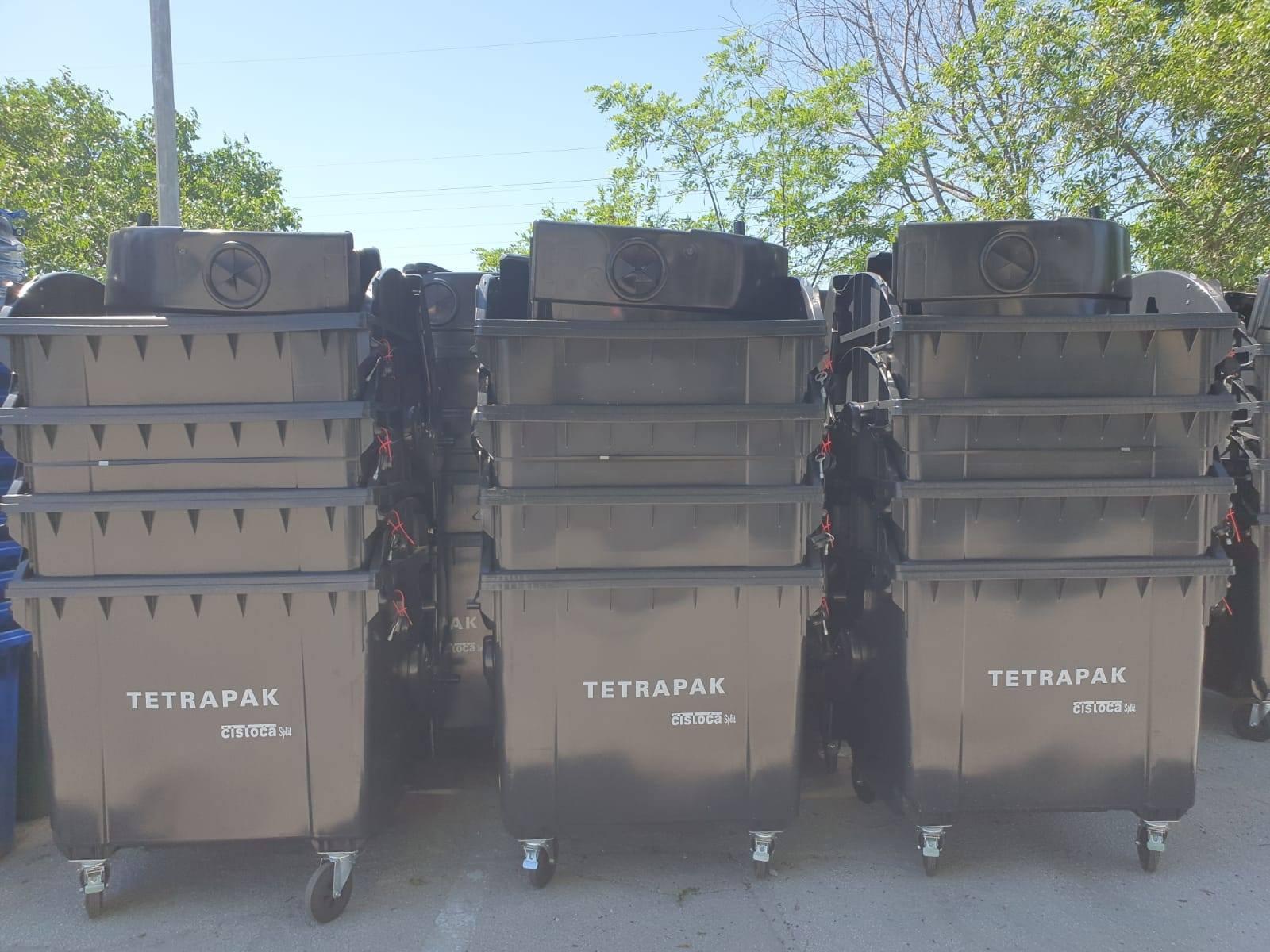 Novi spremnici za tetrapak na ulicama Grada Splita