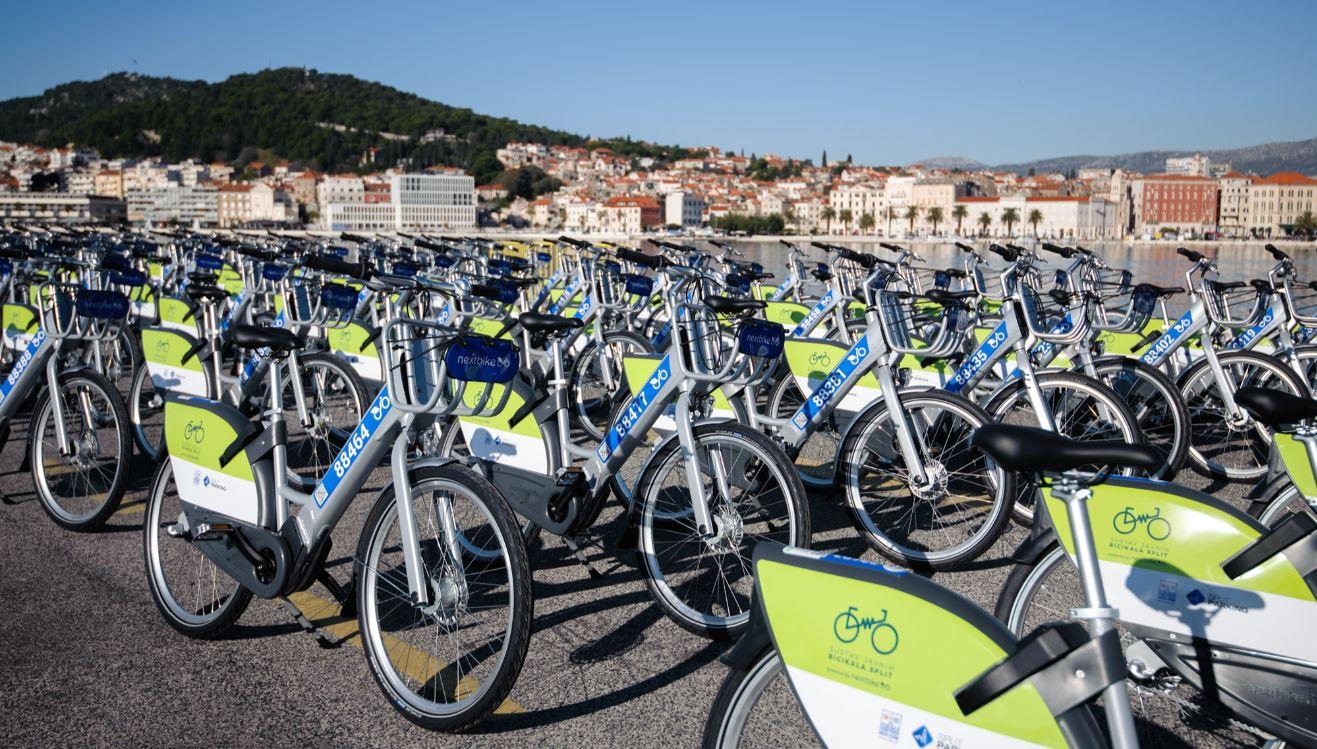 Splićanima još 194 nove javne bicikle!