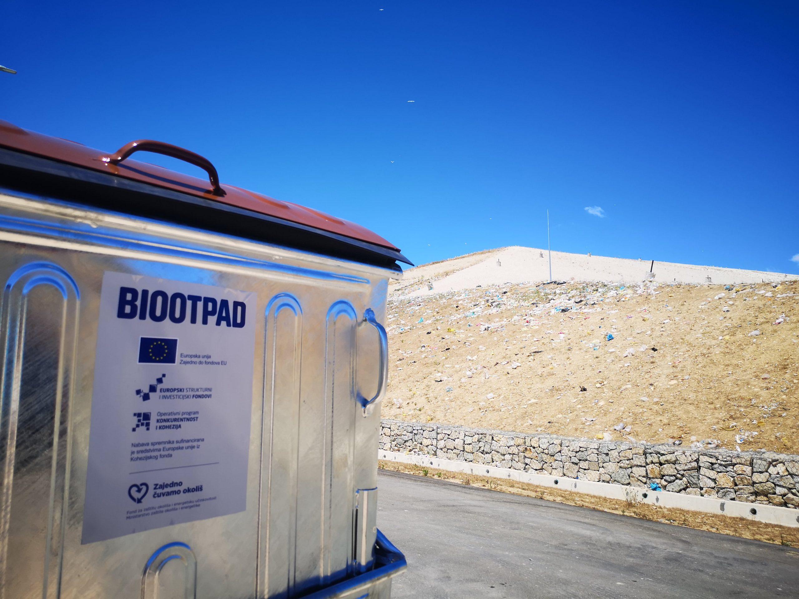 Počinje postavljanje novih spremnika za odvojeno prikupljanje biootpada