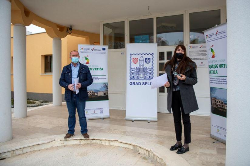 Završena energetska obnova vrtića Latica na Sućidru