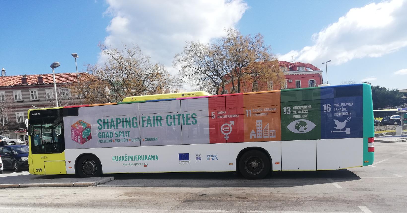 """Grad Split – ponosan partner projekta """"Shaping fair cities"""""""