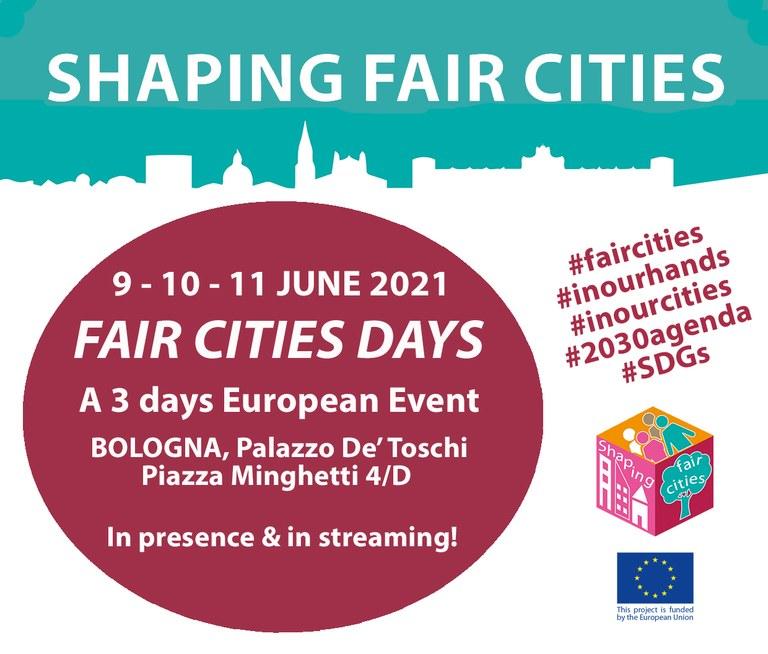 FAIR CITIES DAYS, trodnevni Europski događaj